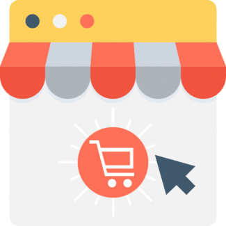Get an online store like Etsy, Amazon, etc. Invite your friends to open their own stores on YOUR website!